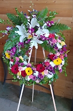 Peaceful Tribute Wreath