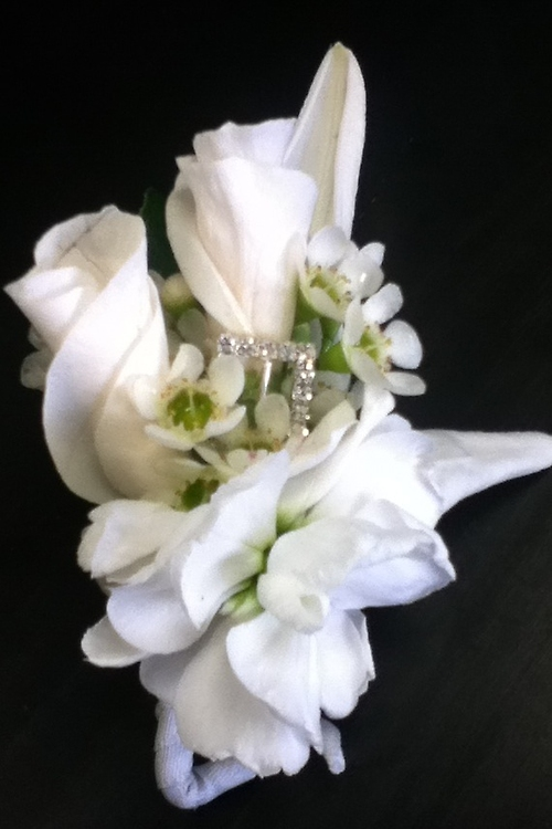 Purity Boutonniere
